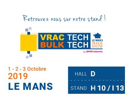 ITALVIBRAS France au VRAC TECH 2019 du 01 au 03 Octobre