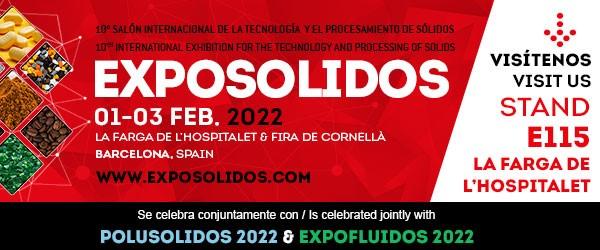 Italvibras en Exposolidos, 10º Salon Internacional de la Tecnología y el Procesamiento de Sólidos